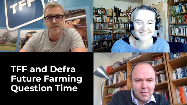 Janet Hughes, David Kennedy, Clive Bailye Farming Forum